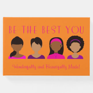 Black Girls Be The Best You Wonderfully Made Guest Book