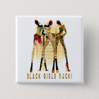 Black Girls Rock! 15 Cm Square Badge