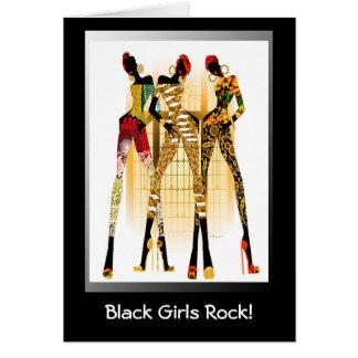 Black Girls Rock Greeting Card