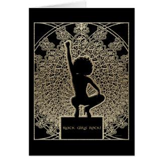 Black Girls Rock! Greeting Card