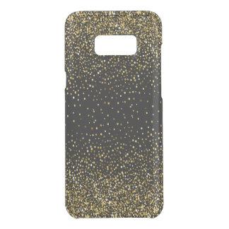 Black & Glam Gold Glitter Confetti Design 01 Uncommon Samsung Galaxy S8 Plus Case