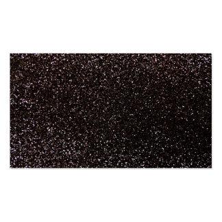 Black glitter business card templates