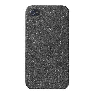 Black Glitter Case For iPhone 4