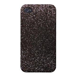 Black glitter iPhone 4/4S cover