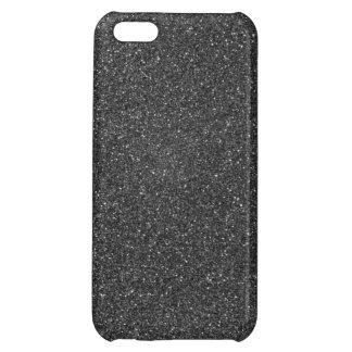 Black Glitter iPhone 5C Cover