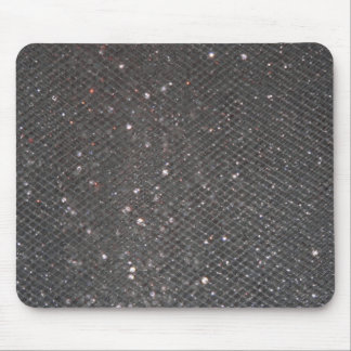 Black Glitter Mouse Mat