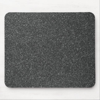 Black Glitter Mousemats