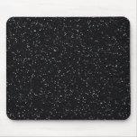 Black Glitter Mousepad