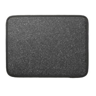 Black Glitter Sleeve For MacBook Pro