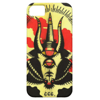 Black Goat Phone Number of the Beast Case For The iPhone 5