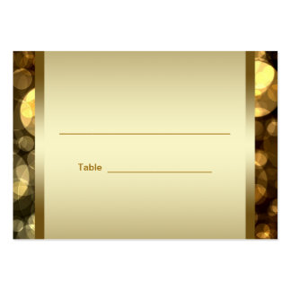 Black Gold Bar Bat Mitzvah Reception Table Cards Pack Of Chubby Business Cards