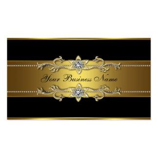 Black Gold Black Business Cards