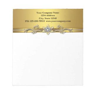Black Gold Business Notepads