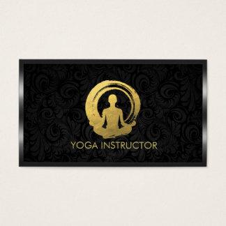 Black Gold Calligraphy Yoga Meditation ZEN Symbol