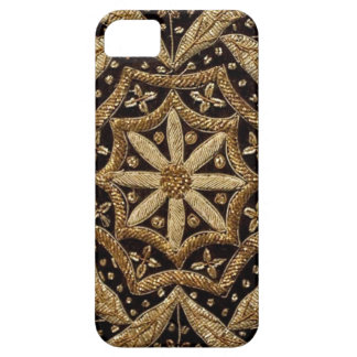 Black & Gold Embroidered look IPHONE5 Case iPhone 5 Covers