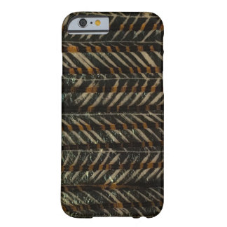 Black & Gold Horizontal Barely There iPhone 6 Case