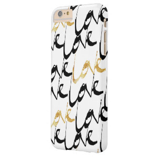 Black & Gold Love Phone Case