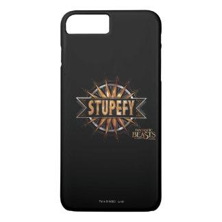 Black & Gold Stupefy Spell Graphic iPhone 8 Plus/7 Plus Case