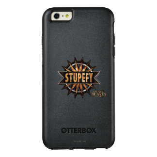 Black & Gold Stupefy Spell Graphic OtterBox iPhone 6/6s Plus Case