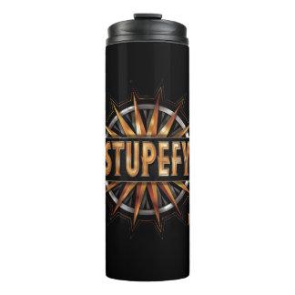 Black & Gold Stupefy Spell Graphic Thermal Tumbler