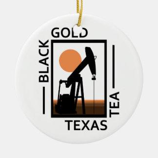Black Gold Texas Tea Christmas Ornament