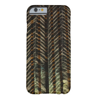 Black & gold vertical barely there iPhone 6 case