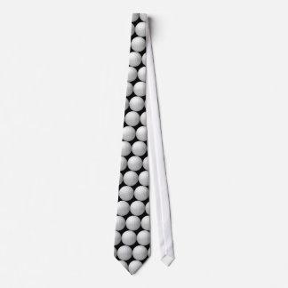 Black Golf Ball Tie