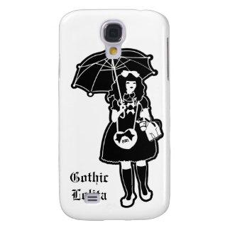 Black Gothic Lolita Phone Case Galaxy S4 Case