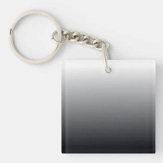 Black Gradient Key Ring