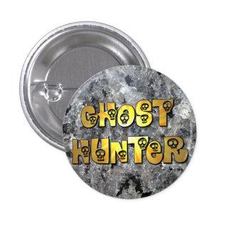 Black Granite Ghost Hunter Button
