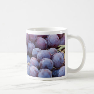 black grape coffee mug