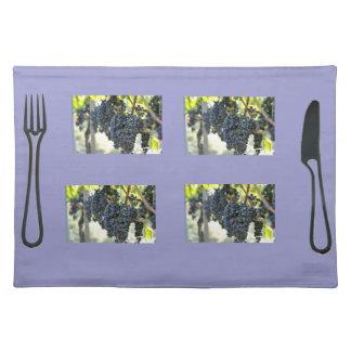 Black Grapes Placemat