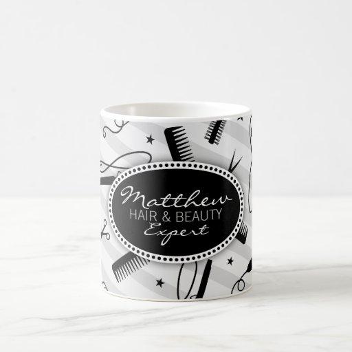 Black & Gray Hair & Beauty Mug