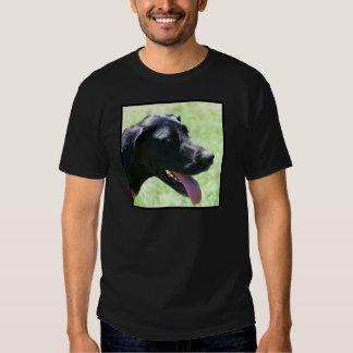Black Great Dane Tee Shirt