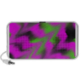 Black Green and Purple Waves Speaker