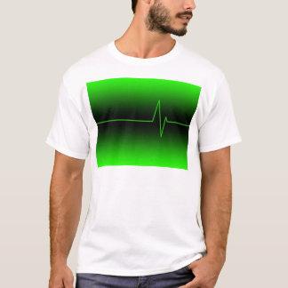 Black Green EKG T-Shirt
