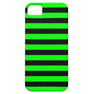 Black Green Stripes horizontal iPhone 5 case
