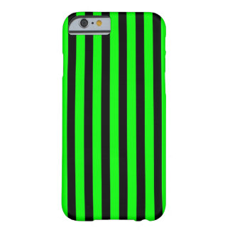 Black Green Stripes vertical iPhone 6 case