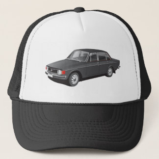 Black / Grey Swedish automobile from 70's Trucker Hat