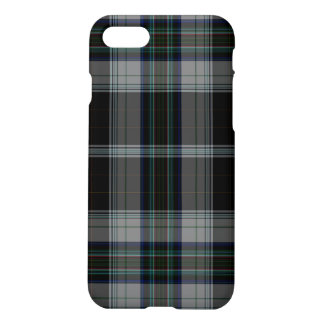Black Grey Tartan Plaid iPhone 8/7 Case