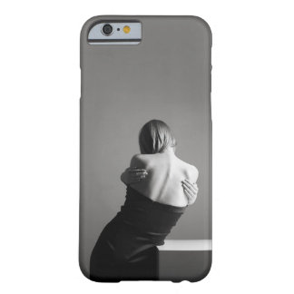 Black-grey woman statue barely there iPhone 6 case
