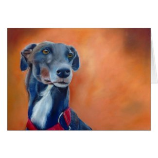 Black Greyhound art card (a395) title=