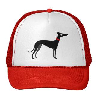 Black greyhound cap