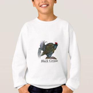 Black Grouse bird, tony fernandes Sweatshirt