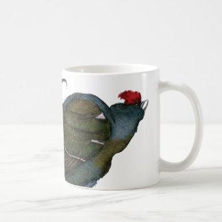 black grouse bird with egg, tony fernandes mug