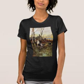 Black Grouse Mating Display T Shirts