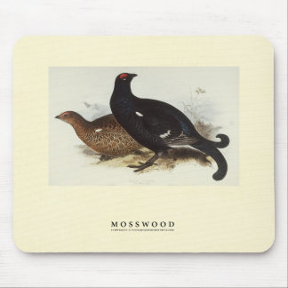 Black Grouse Mouse Pad