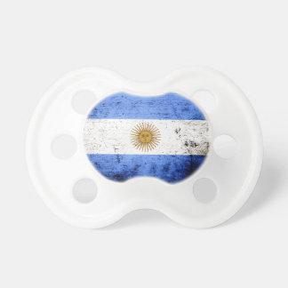 Black Grunge Argentina Flag Dummy