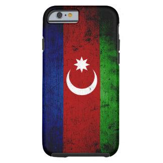 Black Grunge Azerbaijan Flag Tough iPhone 6 Case