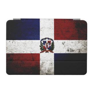 Black Grunge Dominican Republic Flag iPad Mini Cover